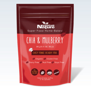 Chia & Mulberry Muffin Mix