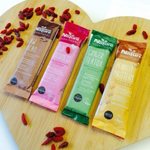 all bars with goji berries