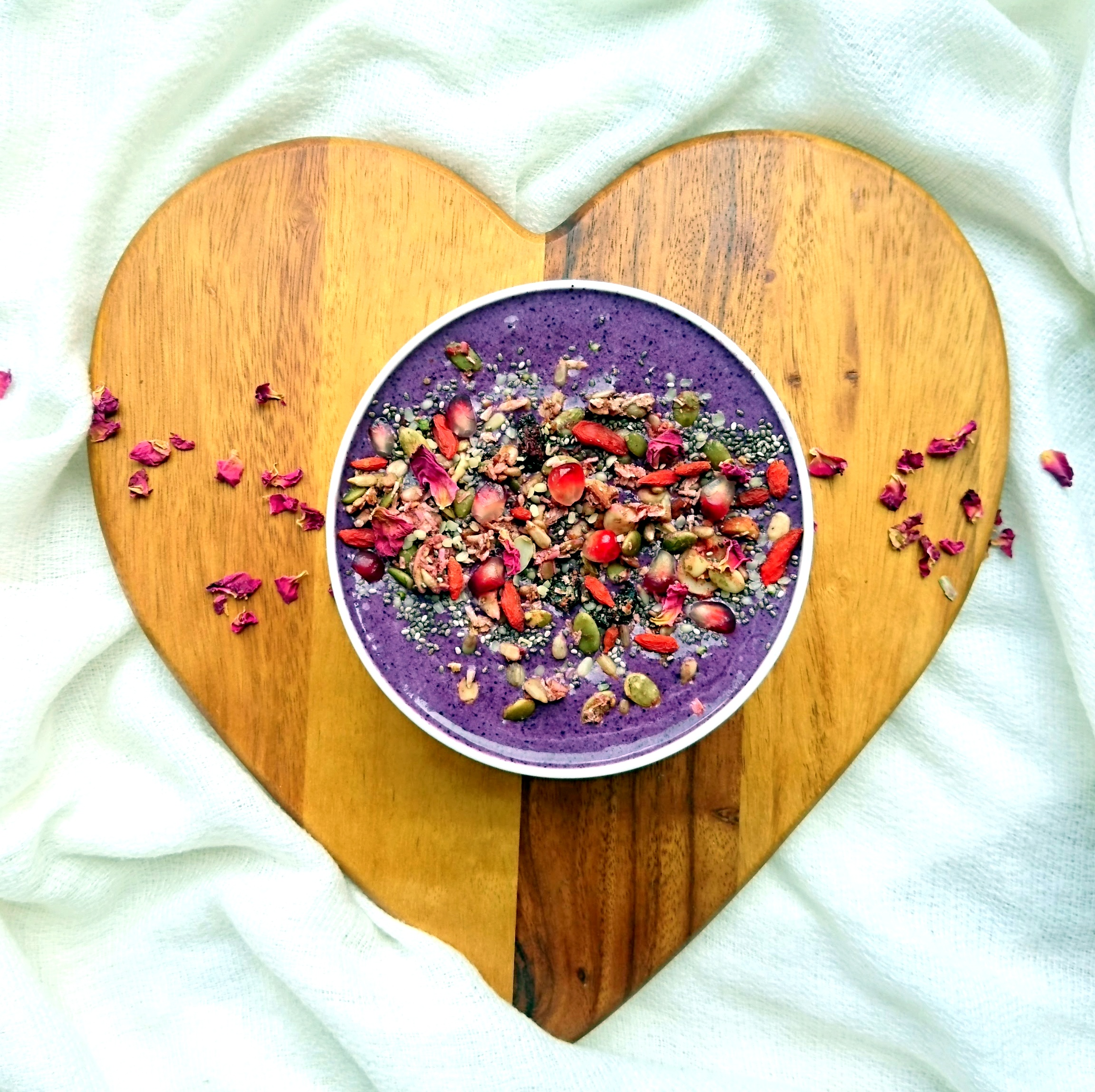 Blueberry Creative Nature Superfood Smoothie Healthy&Psyched